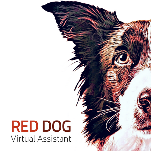 Red Dog Virtual Assistant Logo